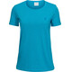 Peak Performance Track t-shirt Dames blauw